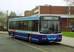 Beestons N631XBU Haverhill February 2001 (The original SimonB) Tags: 2001 film buses suffolk transport scanned february haverhill beestons