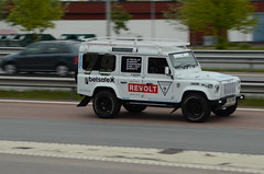 Gumball 3000 2015 (saabrobz) Tags: sweden rover karlstad land 3000 gumball defender 2015 gumball3000