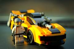 "McLaren P1 Mod ""Aardvark"" (yudho w) Tags: car mod lego exotic minifig supercar moc afol mclarenp1"