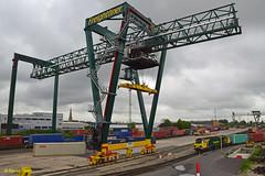 Southampton 70002 (davidhann34016) Tags: crane maritime southampton millbrook containers mct liebherr freightliner heavyhaul 70002 class70