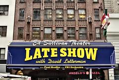 Goodbye Dave. Enjoyed the Show (fullerb) Tags: nyc newyorkcity newyork tv broadway lateshow letterman