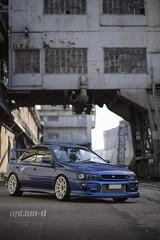 Subaru Impreza   JR-11 18x8.5 White (JR Wheels) Tags: car wheels subaru vehicle rim impreza japanracing jr11 jrwheels japanracingwheels