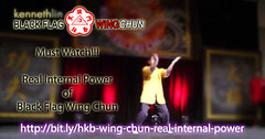 Real Internal Power of Black Flag Wing Chun (Hek Ki Boen Eng Chun) Tags: man black flag wing chun donnie yen ki hek ip yip boen