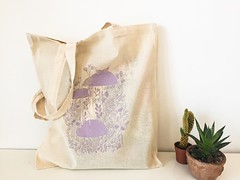 Forest concert Cotton tote bag www.abstractales.etsy.com (mhasegawa165) Tags: rabbit animal illustration forest bag botanical squirels grapghicdesign
