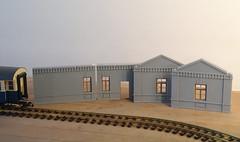 IMGP3332 (kudrdima) Tags: railroad model russia railway guardhouse oldtime     gauge1  gaugeg scaleg spuriim   125