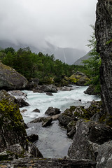 Utover Elva II (Serious Andrew Wright) Tags: nature norway rauma primitive andalsnes romsdalen primeval trollveggen raumariver