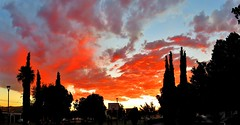 Nubes antorcha/Clouds torch-lighted (jerodamor@yahoo.com.mx) Tags: sol ocasostorren ocasos naturaleza nubes panormicas mexico
