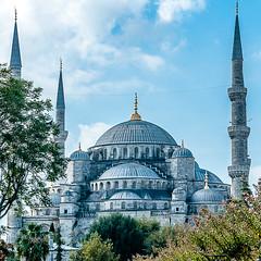 Blue Mosque (Kevin R Thornton) Tags: city travel turkey nikon istanbul tr 2015 d90 201510