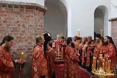 28. Paschal Prayer Service in Svyatogorsk / Пасхальный молебен в соборном храме г. Святогорска