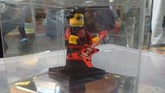 Red Rocker Lego Figure