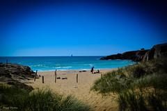 DSC_0135 (FlipperOo) Tags: voyage sea mer france color st rock port de nikon pierre vagues plage morbihan blanc roche arche quiberon instagramapp