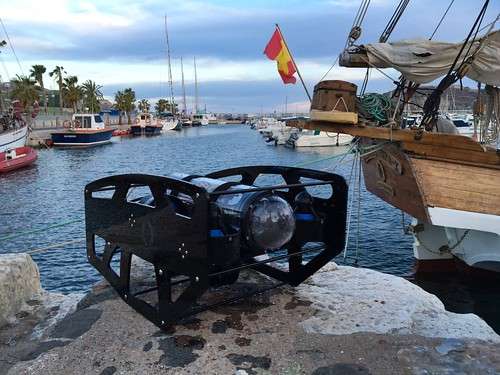 BlueROV by Nido Robotics in Cartagena