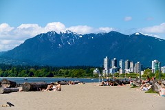 Everything that Vancouver is (scottyrobson) Tags: sea canada beach vancouver court landscape photography photo cityscape skyscrapers relaxing srp volleyball kitts snowcappedmountains scottyrobsonphotography scottyrobson