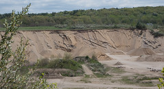 Top and foreset beds. #SunderlandMA Delta. (koperajoe) Tags: sand newengland delta pit geology quarry gravel glacial westernmass