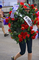 The Rose Princess (swong95765) Tags: roses woman cute smile leaves lady costume princess parade