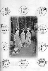 Kamogawa Odori 1961 026 (cdowney086) Tags: vintage maiko  1960s pontocho onoe  kamogawaodori