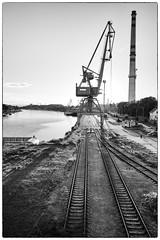 Shipyard (isla de lobos) Tags: shipyard duna danube komrom dunaj komrno lodenice leicasummicronm2035mmasph leicammonochromtyp246 halygyr