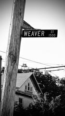 Rule of thirds (brbutle) Tags: summer blackandwhite sunday traintracks streetphotography practice carrides ruleofthirds teenphotographer summerevenings sundayevenings