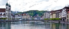 Picturesque Lucerne (somabiswas) Tags: lake buildings switzerland cityscape luzern lucerne