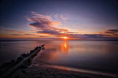 Full Frame Sunrise #explore# (martintimmann) Tags: sonne meer sun sea see ostsee baltic sunrise sonnenaufgang ufer kste coast rocks felsen ocean ozean wasser water