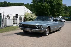 1966 Ford Thunderbird convertible (davocano) Tags: brooklands carauction historicsatbrooklands jke447d