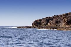 Palaoa Point Lanai (rschnaible) Tags: ocean sea usa seascape water point landscape hawaii coast us pacific rocky cliffs coastal tropical tropics rugged lanai palaoa