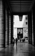 rome (Yaman Konuralp) Tags: roma rome italy building grain niko nikonf ais 35mm film nipponkogaku diy analog vintage rodinal r09 hc110 standdevelopment street streetphotography noir dark travel