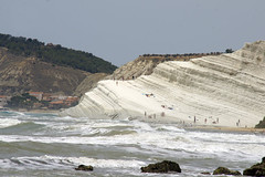 Scala_dei_Turchi_4907 (Manohar_Auroville) Tags: girls sea italy white beach beauty seaside rocks perspectives special scala sicily luigi dei agrigento fedele turchi scaladeiturchi manohar