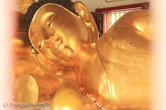 (d.huepe) Tags: sculpture statue relax thailand temple gold asia peace bangkok buddha religion pray paz calm escultura chiangmai estatua calma templo dorado budhism rezar orar acostado armonia armony reclinedbuddha budhareclinado