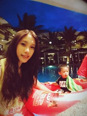 2016.6.22 Swimming Pool @ Henann Garden Resort (amydon531) Tags: trip travel family justin baby cute beach boys pool kids sisters swimming garden island toddler brothers philippines resort boracay jarvis bffs    henann
