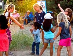 Dancing Outside . (ikan1711) Tags: harmonyartsfestival outdoors outdoor outdoorsports dancing dance outdoordancing girlsdancing band bands outdoorbands seawalk seashore younggirlsdancing younggirls