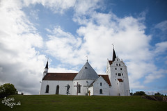 Church (judithrouge) Tags: church kirche denmark dnemark himmel sky white weis wolken clouds glaube