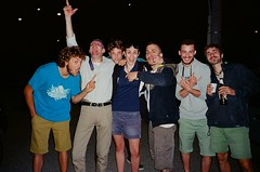 Link (Arianna Rubini) Tags: 35mm film olympusmjuii olympus mjuii lomography pellicola rullino boys young youth link bologna summer people 400asa