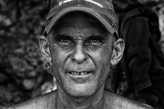 Alessandro (realitygui) Tags: humble portrait esmarelda stubble people guardalavaca eyes holguin happy cuba bw blackandwhite content solriodelunaymares