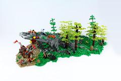 Symounde's Covert (David FNJ) Tags: yeoldmerrybattleground brickfair lego landscape rock