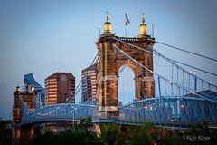 Roebling Suspension Bridge (rdr1051) Tags: cincinnati bridge roebling suspension