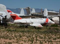 United States Coast Guard                         HU-25A  (Dassault Falcon 20)                                                      2132 (Flame1958) Tags: unitedstatescoastguard uscg coastguard dassaultfalcon20 falcon20 dassault dassault20 hu25 hu25a pima pimaairandspacemuseum 300816 0816 2016 arizona airmuseum 2132 1229