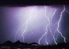 Zip Code 85255 Lightning Storm (Striking Photography by Bo Insogna) Tags: arizona nature clouds giant skyscape landscapes ground images photographs monsoon citylights thunderstorm lightning lightening striking mounatins masive pinnaclepeak lightningbolts 85255 northscottsdale lightningphotography boinsogna thelightningmancom strikingphotographycom jamesinsogna boinsognacom arizonanaturephotography