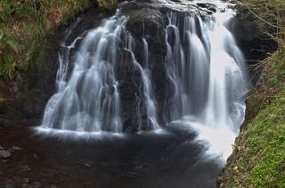 Waterfall Downstream from Ess-na-Laragh, Glenariff