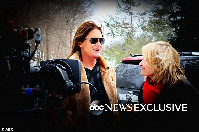 Bruce Jenner speaks to Diane Sawyer about his transition
