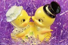 Happy Easter!!! (Verokitschy) Tags: cute vintage easter ceramic decoration kitsch kitschy decor planter vintageplanter