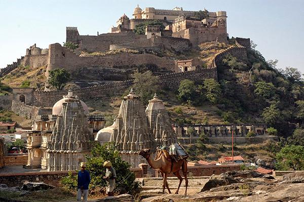 1Kumbhalgarh- Vạn Lý Trường Thành của Ấn Độ
