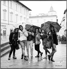 Antonietta ed amici_Rolleiflex 2.8E (ksadjina) Tags: italy 6x6 film analog blackwhite scan toscana arezzo antonietta silverfast kodak100tmax rolleiflex28e nikonsupercoolscan9000ed carlzeissplanar80mmf128