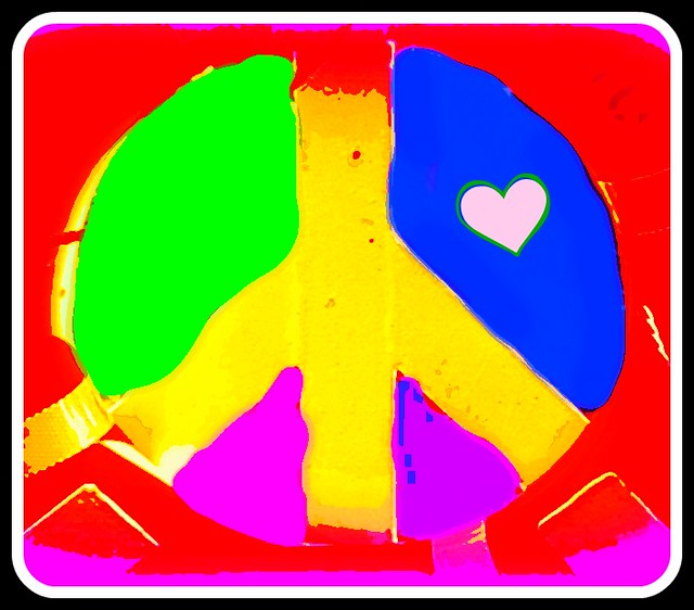 Peace Symbol, 2015 update, From FlickrPhotos