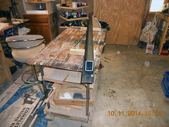 Hank Kennedy table saw project - diy guide rails 07