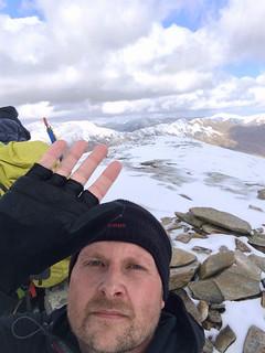 South Glen Shiel Ridge: Sgurr an Doire Leathain Summit