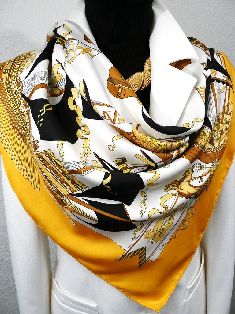 Armada, Vauzelles, 1976 (Carre de Paris) Tags  vintage armada foulard hermes 860860a88bb