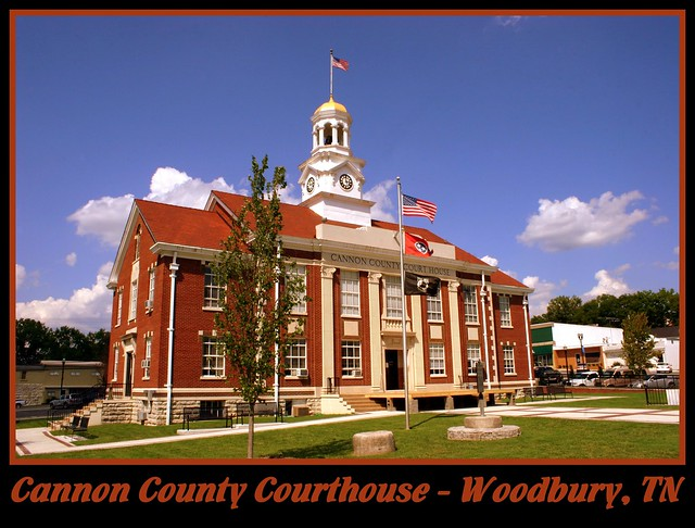 For Sale: TN Courthouse Postcard Collection: Cannon