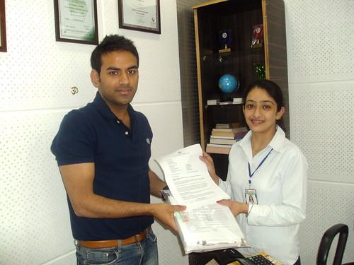 Counselor handling Australia Student visa to Ishan Kalra