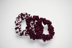 / BOHEMIANS / (dayanakazakova) Tags: red white dark mix jewelry bracelet textiles dayana kazakova